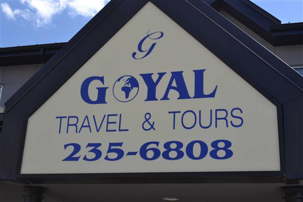 Goyal Travel 235-6808 235-6808, Calgary, Canada, Yellow Pages